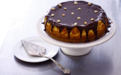 Bar One Baked Cheesecake