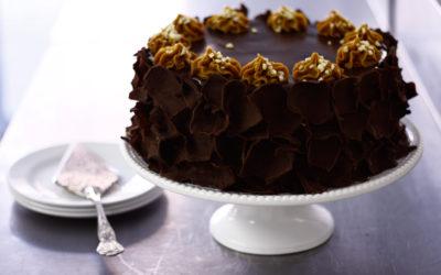 Bar One Caramel Cake