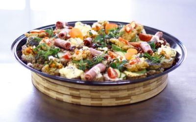 Open Sandwich Platter