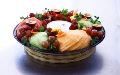 Sliced Fruit Platter