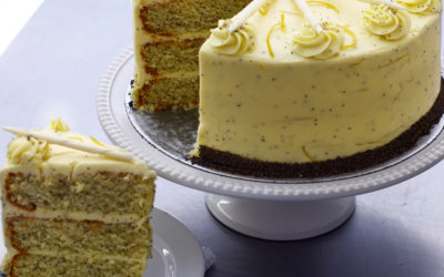 Lemon Poppy Cake