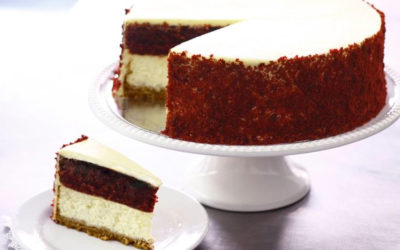Red Velvet Baked Cheesecake