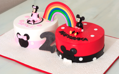 Rainbow Minnie & Mickey