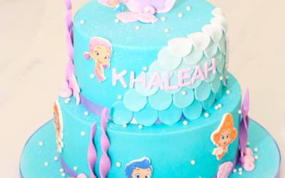 Children's Mermaid Birthday Cake