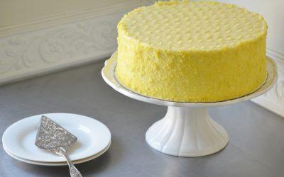 Lemon velvet cheese