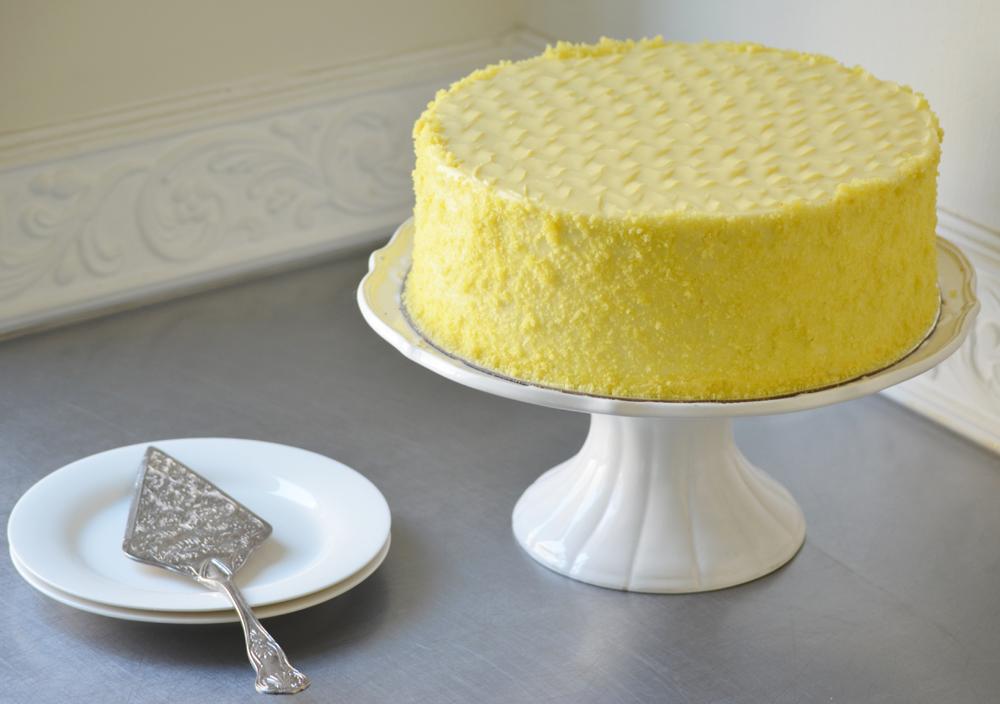 Lemon velvet cheese | 180 Degrees Catering & Confectionery