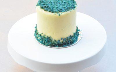 Mini Blue Velvet Cake