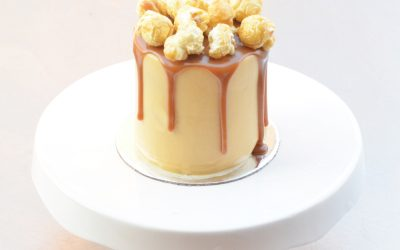Mini Caramel Fudge Cake