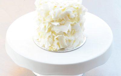 Mini Coconut Syrup Cake