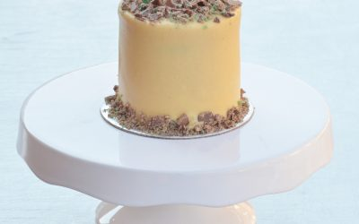 Mini Coconut Peppermint Cake