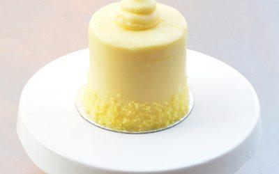Mini Lemon Velvet Cake