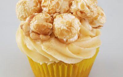 Caramel Fudge Cupcake